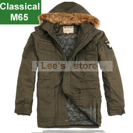 New 2015 men's M65 jacket, U.S.Army jacket, 101st Airborne army Outerwear windproof military coats 2 colors Outdoor clothing(China (Mainland))