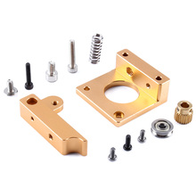3D Printer MK8 Extruder dedicated Aluminum Frame Block DIY Kit left hand