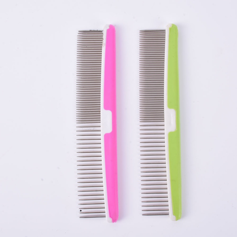 New Pets Dog Grooming Brush Trimmer Comb Hair Fur Shedding Stainless Steel Tools(China (Mainland))