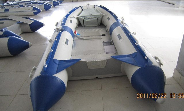 inflatable boat with CE  TR-320D AL