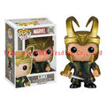 Free Shipping Marvel Comics Avengers 2 Age of Ultron Thor's Brother POP LOKI Laufeys 10cm Cute Bobblehead Action Figure toys