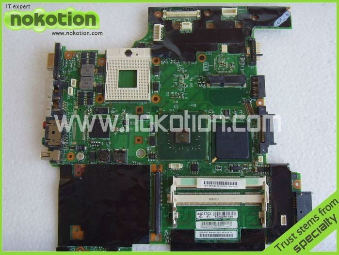 Laptop motherboard For lenovo IBM thinkpad T60 Intel DDR2 FRU:44C3702 11S42W7543 High Quanlity Full tested Working Perfect(China (Mainland))