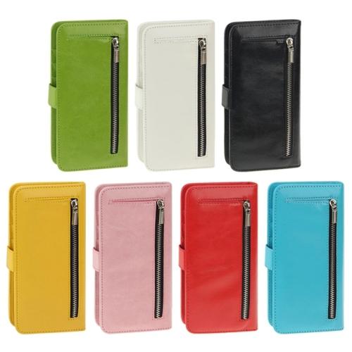 2 1 Separable Wallet Style Flip Leather Case iPhone 6 Plus Phone Cover Zipper Fashion Unique Design Black Pink - 3C-club store