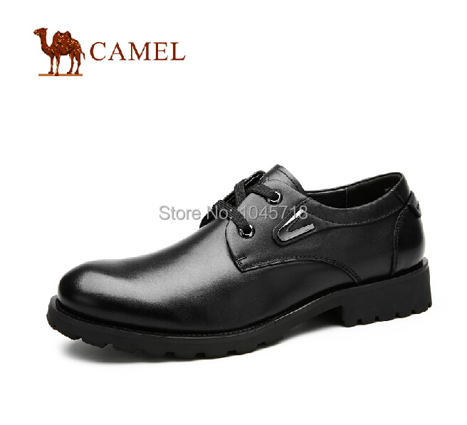CAMEL authentic shoes men shoes new winter 2014 men first layer leather business shoes A432272090<br><br>Aliexpress