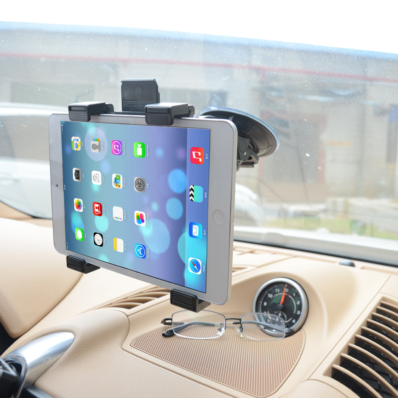 Mount Holder Pad Tablet Pc CellPhone Car Bracket For GPS DVD MID Stand iPad 1/2/3/4/Mini/Air Samsung Galaxy's most other tablets(China (Mainland))