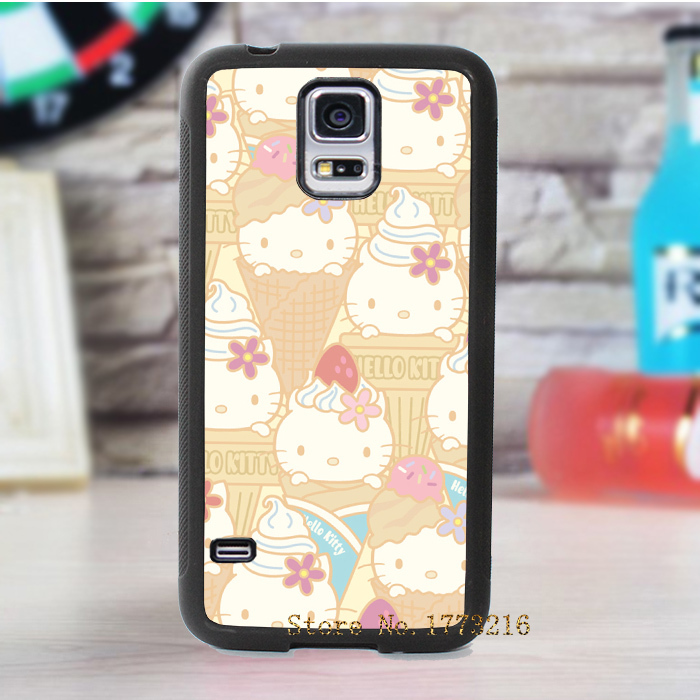 hello kitty sanx sanrio fashion cover case for samsung galaxy s3 s4 s5 note 2 note 3(China (Mainland))