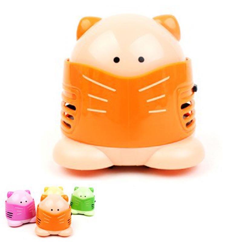 mini vacuum cleaner Designers Cat cartoon body home desktop keyboard car dust small hand held vacuum cleaner dust for home(China (Mainland))