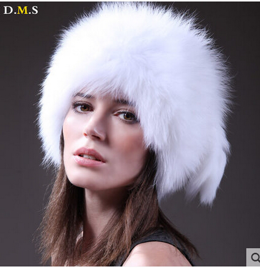 Best selling Autumn And winter Luxury Knitted Genuine Fox Fur 100/100 Natural Fashionable thermal Bomber Hat For women(China (Mainland))