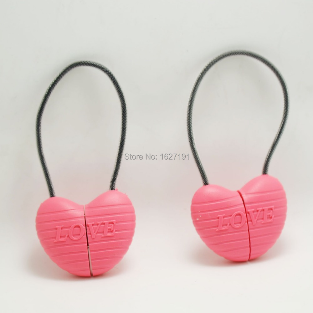 New heart shape pink cable for iphone 5 5s 6 ipad4 5 lovely design mobile phone data cable USB date sync charging charger cable(China (Mainland))
