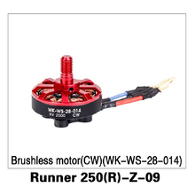 CW Brushless Motor (WK-WS-28-014) Runner 250(R)-Z-09 for Walkera Runner 250 Advance GPS RC Drone Quadcopter Original Parts