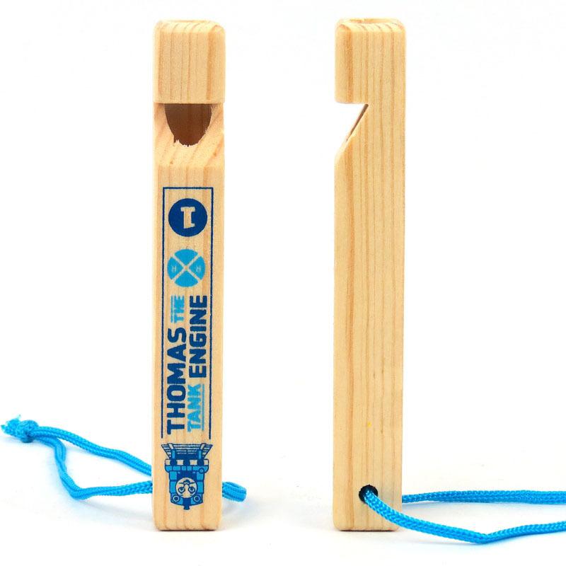 10 pcs/ lot Classic wooden music instrument toys pine wood Samll Tomas train whistle(China (Mainland))