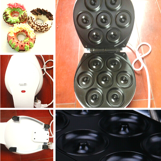 Mini Doughnut Machine Home Appliance Bread Dount Maker Household Cake Machine Bread Making Machine(China (Mainland))