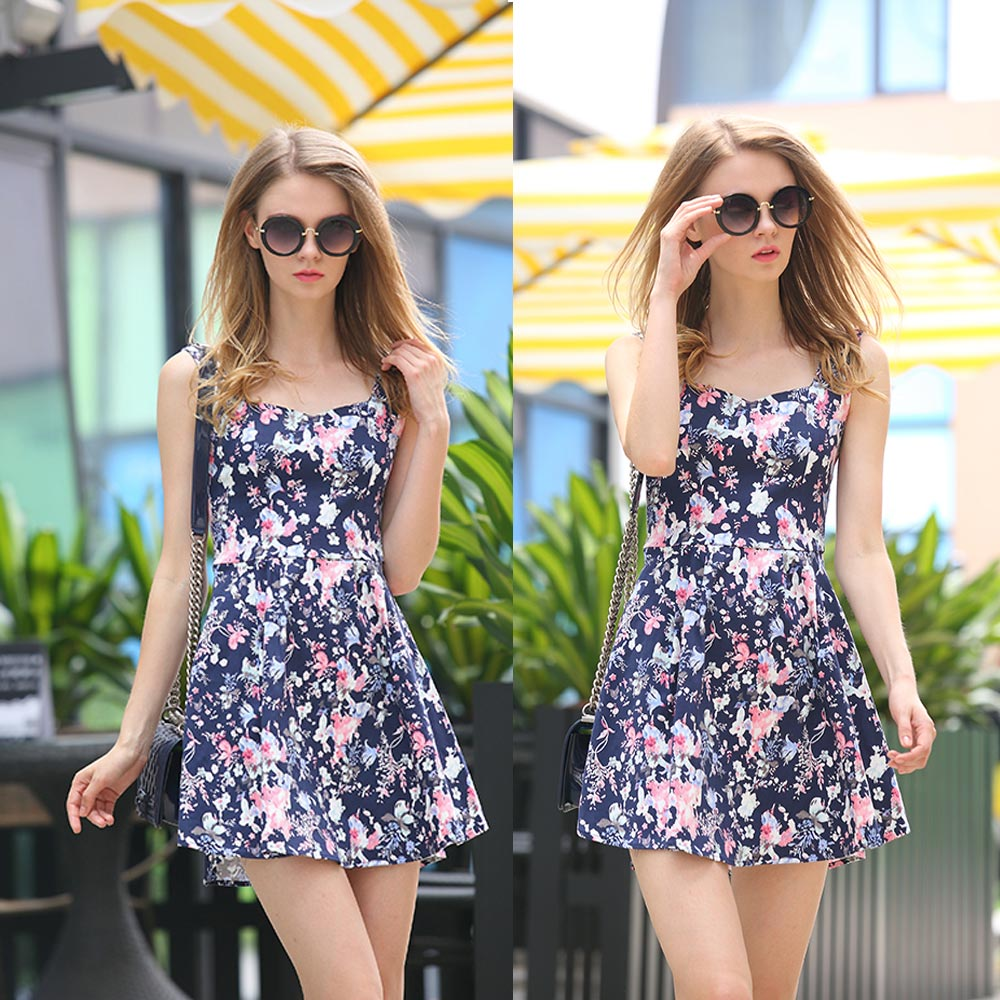цены  Женское платье Brand new 2015 Vestidos Femininos Women Dress