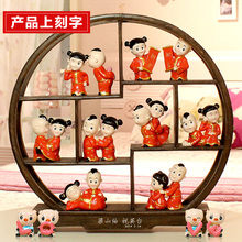 Creative wedding gifts gifts doll girlfriends engagement upscale custom home decorations ornaments new practical wedding(China (Mainland))