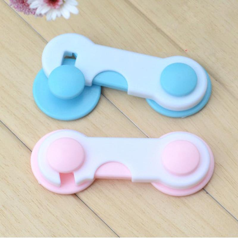 15pcs New Blue Pink Child Kids Baby Safety Guard Protection Multifunctional Safe Security Drawer Cabinet Fridge Door Latch Lock(China (Mainland))