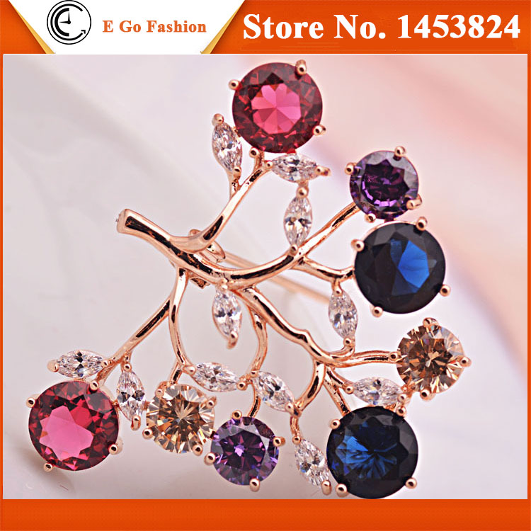 6pcs/Lot Rohs Certificate Eco-friendly Brooches for Women High Quality Silver Brooch Pins for Wedding Dresses Bridal Tree Brooch<br><br>Aliexpress