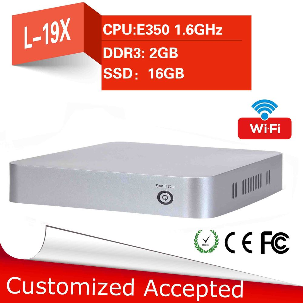 Wholesale thin client keyboard lowest price thin client AMD E350 2g ramprice of thin client pc cheap mini pc station thin client(China (Mainland))