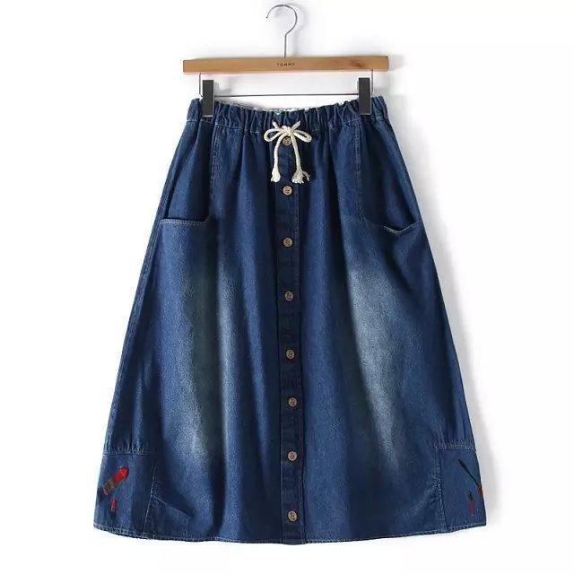aliexpress buy 2015 summer denim skirt