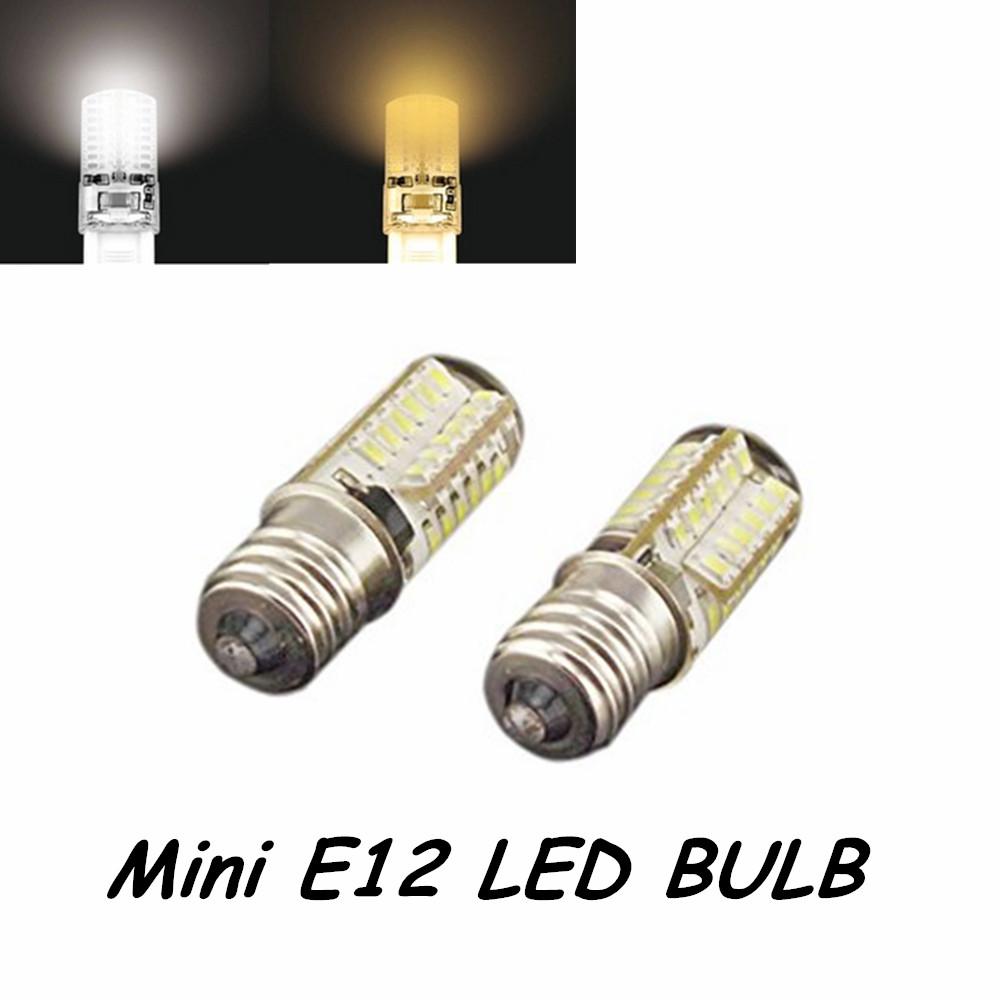 5pcs 110v 220v 3w 3014 smd led chips mini e12 led light bulb 110v omnidirectional candelabra. Black Bedroom Furniture Sets. Home Design Ideas