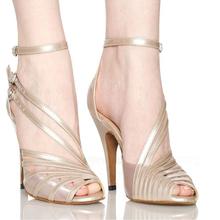 Women's Latin dance shoes dance shoes summer sandals soft outsole high heeled