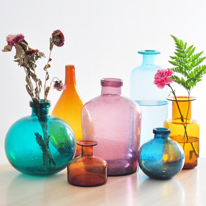 Popular glass bubble vases buy cheap glass bubble vases for Air vase