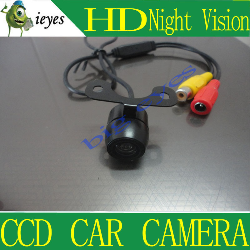 Factory selling+Mini Waterproof Car Parking Assistance Reversing Back Rear View Camera, HD CCD Image Sensor Rearview Camera(China (Mainland))
