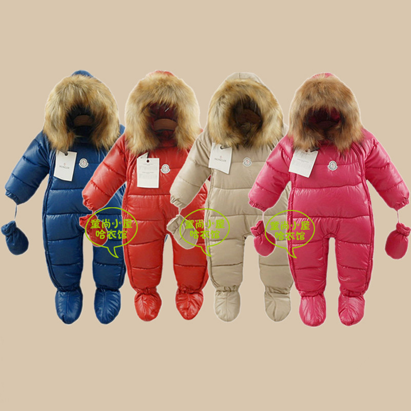New 2014 winter baby clothing boys girls -30 Temperature winter warm rompers children wadded down outerwear kids thick coat<br><br>Aliexpress