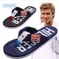 2015 Beckham flip flops summer fashion brand rubber wear-resistant Men flip-flops shoes beach slippers US Size(China (Mainland))