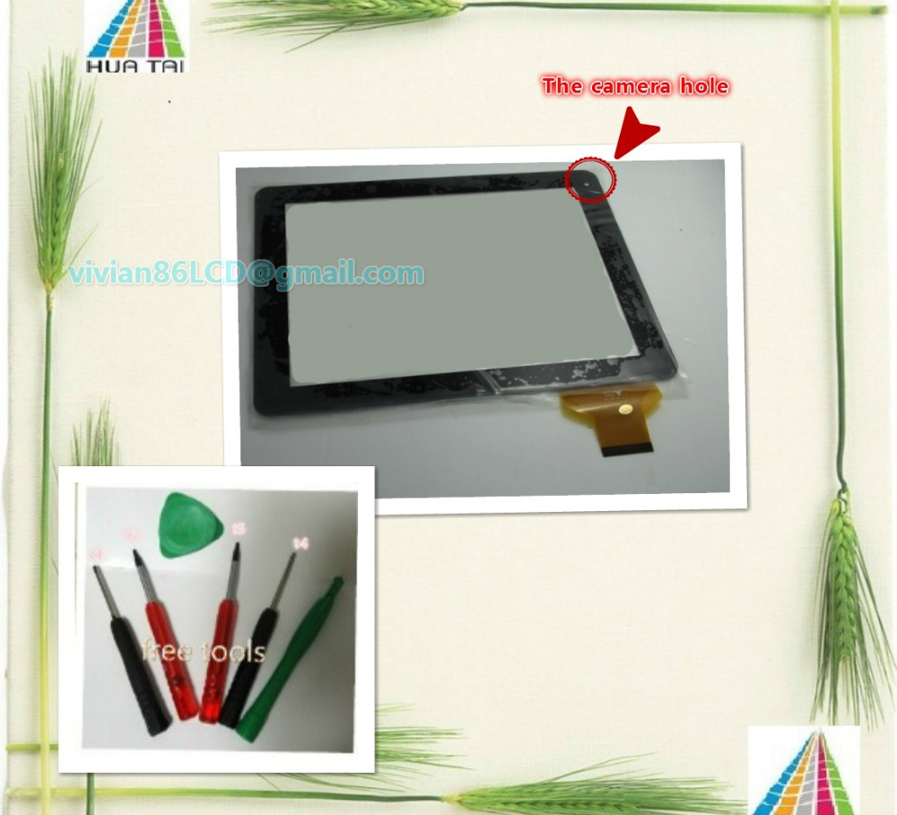 """Original New 9. 7"""" capacitive 10point multi-touch yuandao N90 talk U9GT2 T90 free tools(China (Mainland))"""