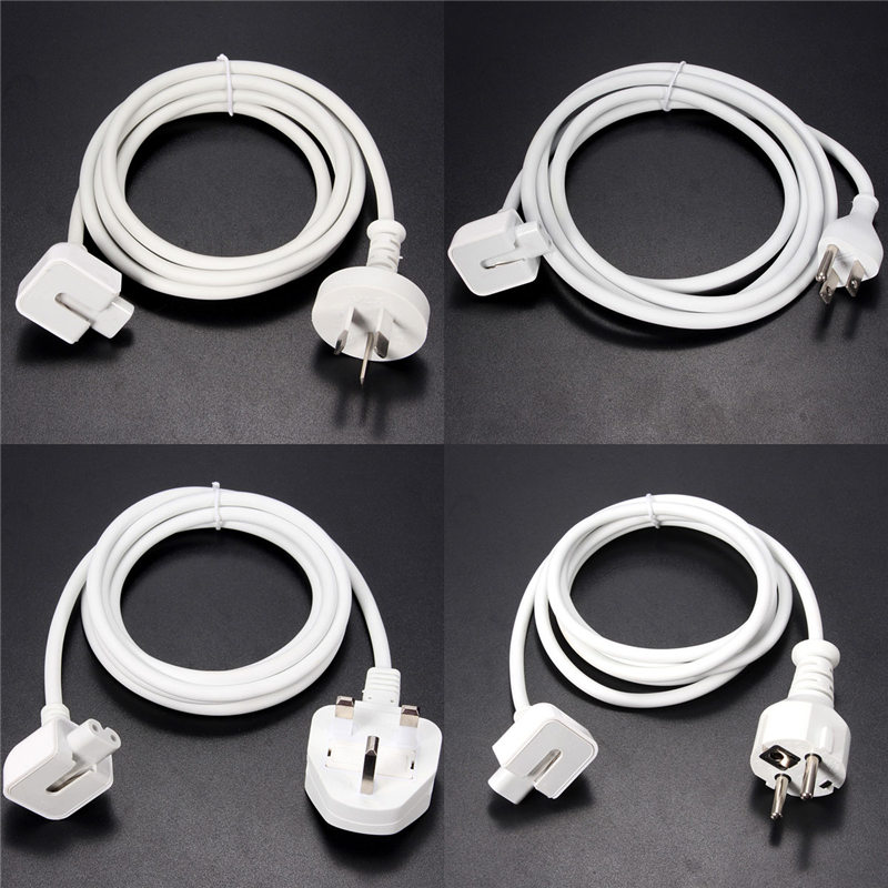 The Best Quality Best Price US/EU/AU/UK Plug Extension Cable Cord for MacBook Pro Air Charger Adapter<br><br>Aliexpress