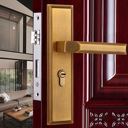 Antique Bronze European Room Door Lock Or Toilet Handle Lock<br><br>Aliexpress