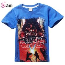 Buy New 2016 boys star wars clothing t shirt girls kids nova star wars top t-shirt children summer t shirt star wars meninos roupas for $6.77 in AliExpress store