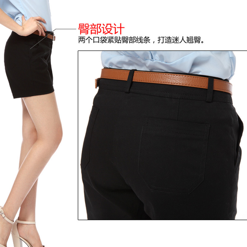 Fashion Summer Womens Clothes Candy Color New 2015 Woman Shorts Casual Zipper Harem Short Pants Women plus size - HAPPYHOUR QUALITY Store store
