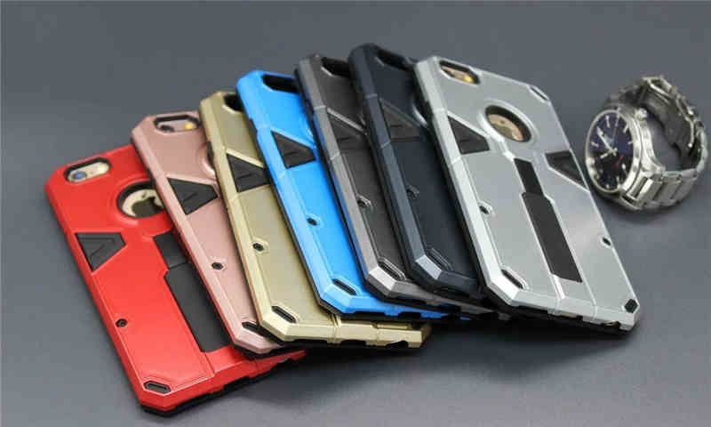 Coque Grand Prime Funda Silicon Plastic Holder Stand Case For iPhone 6/6s/6plus/6splus Grand Prime Telescopic Ring Holder E105