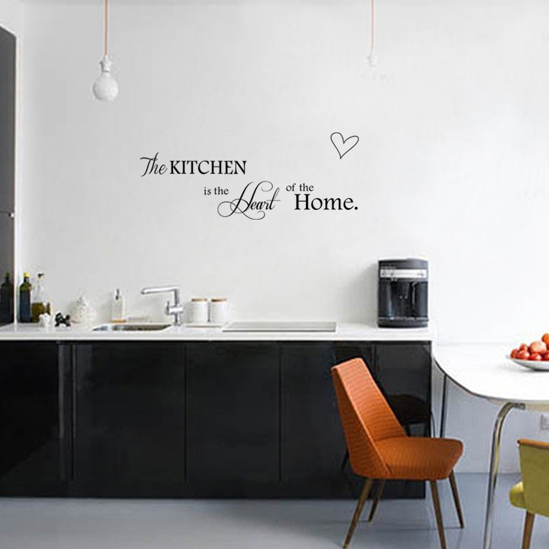 Keuken Decoratie Appel : STKS DIY Muurstickers Keuken Decoratie + Woondecoratie Brief Hart