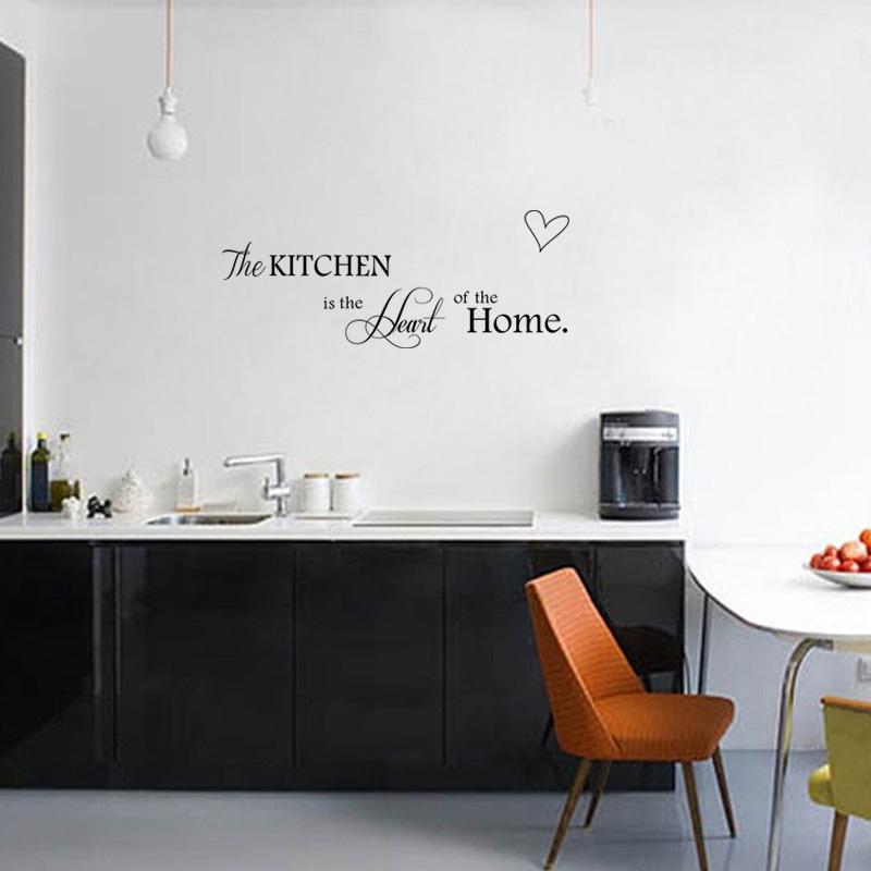 Muurstickers Keuken Decoratie : STKS DIY Muurstickers Keuken Decoratie + Woondecoratie Brief Hart