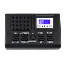 Hot Sale Mini Digital Telephone Voice Recorder Phone Call Monitor with LCD Display Support SD Card Y4307(China (Mainland))