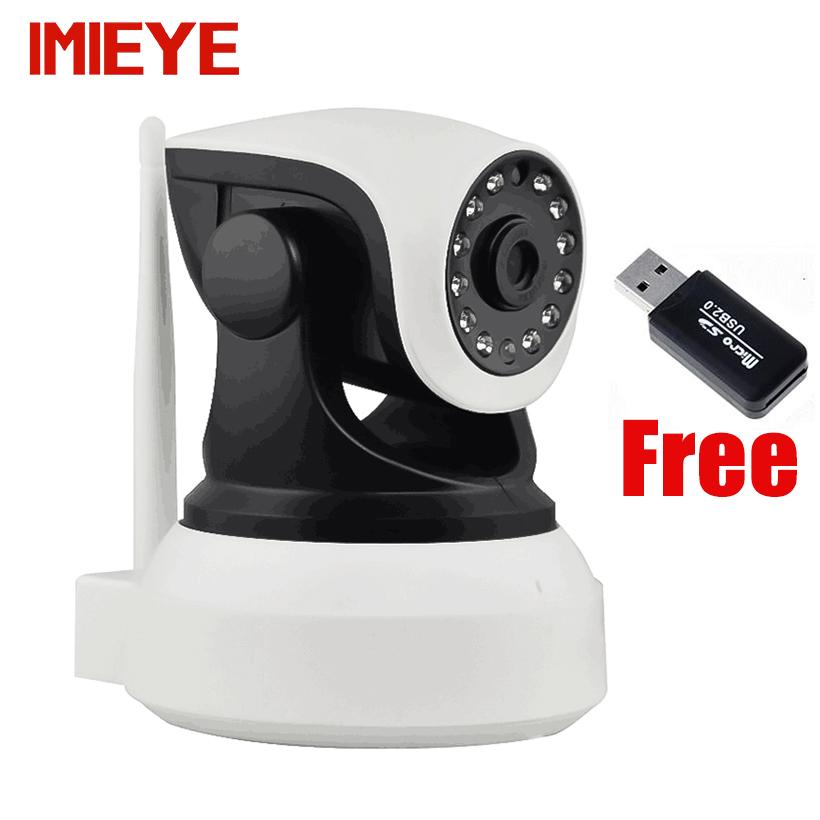 IMIEYE HD 720P IP camera wireless wifi cctv night vision P2P webcam TF card PTZ Onvif ip kamepa wi-fi security surveillance cam - Official Store store