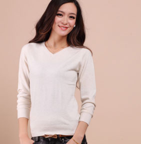 Free shipping New genuine cashmere sweater fashion women pure cashmere Pullovers cashmere customized big size JN053(China (Mainland))