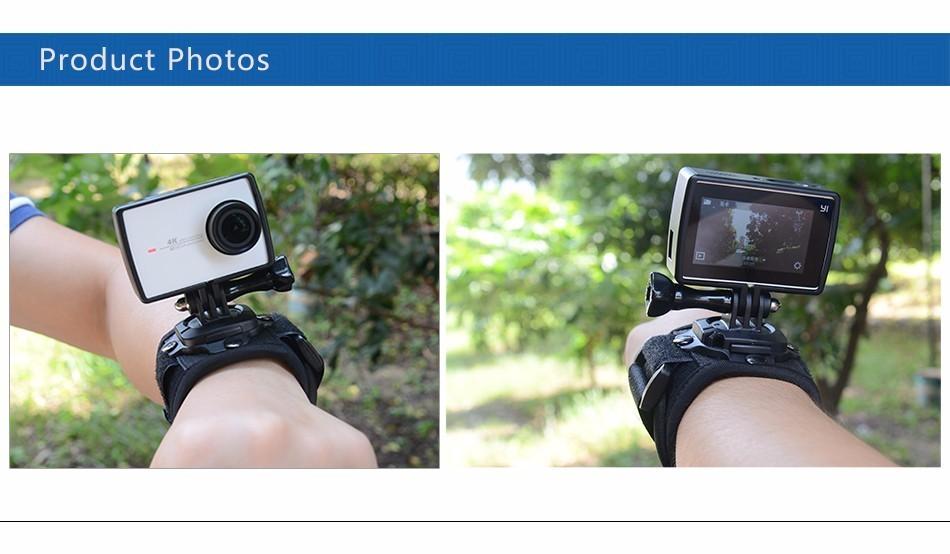 Xiaomi Yi 4K Accessories Standard Frame Housing Mount Base Screw Protective Hard Case For Xiaomi YI 4K Sports Action Camera 2