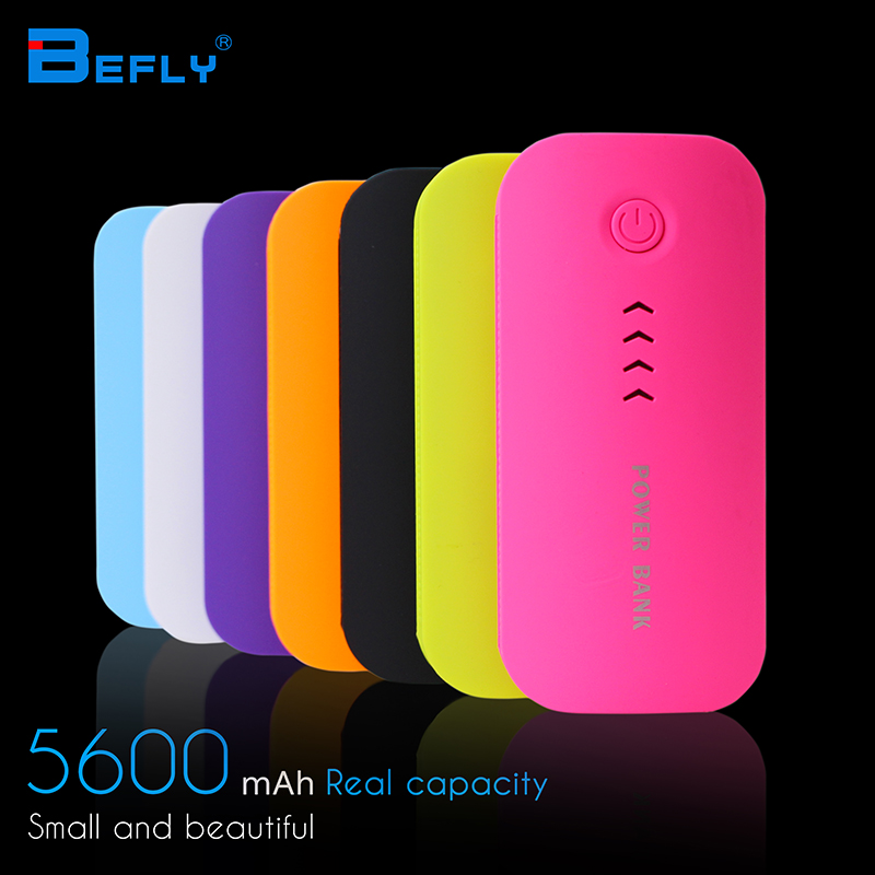 Feather Shape 5600mAh Power Bank Portable Charger For Mobile Phone Battery Charger External Battery For all Mobile Phone(China (Mainland))