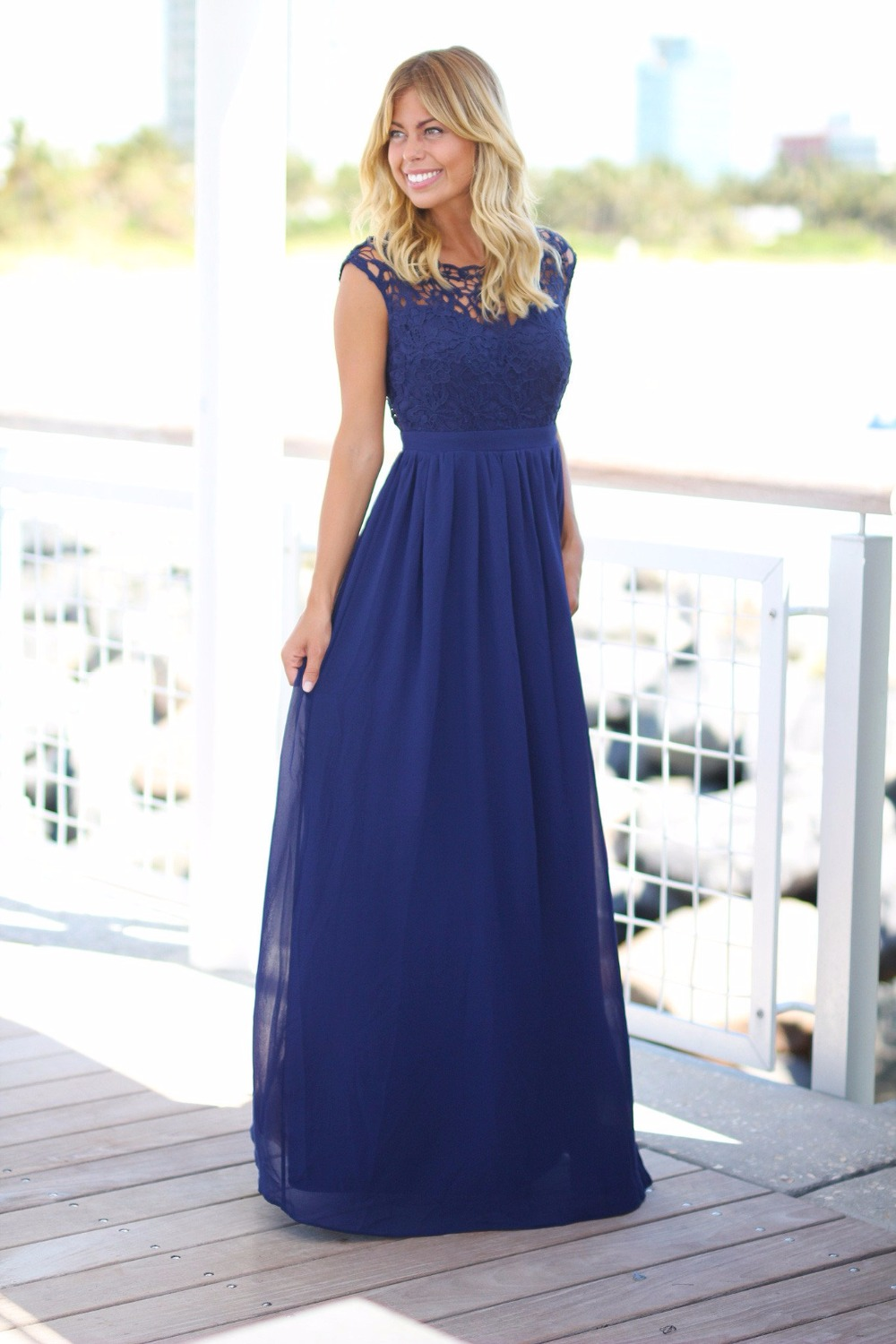 Online buy wholesale summer dress wedding guest from china for Long maxi dresses for weddings