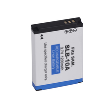 SLB-10A SLB 10A SLB10A Rechargeable Camera Battery For Samsung HMX-U10 HMX-U100 SL720 SL310W SL820 HZ15W HZ10W ES60
