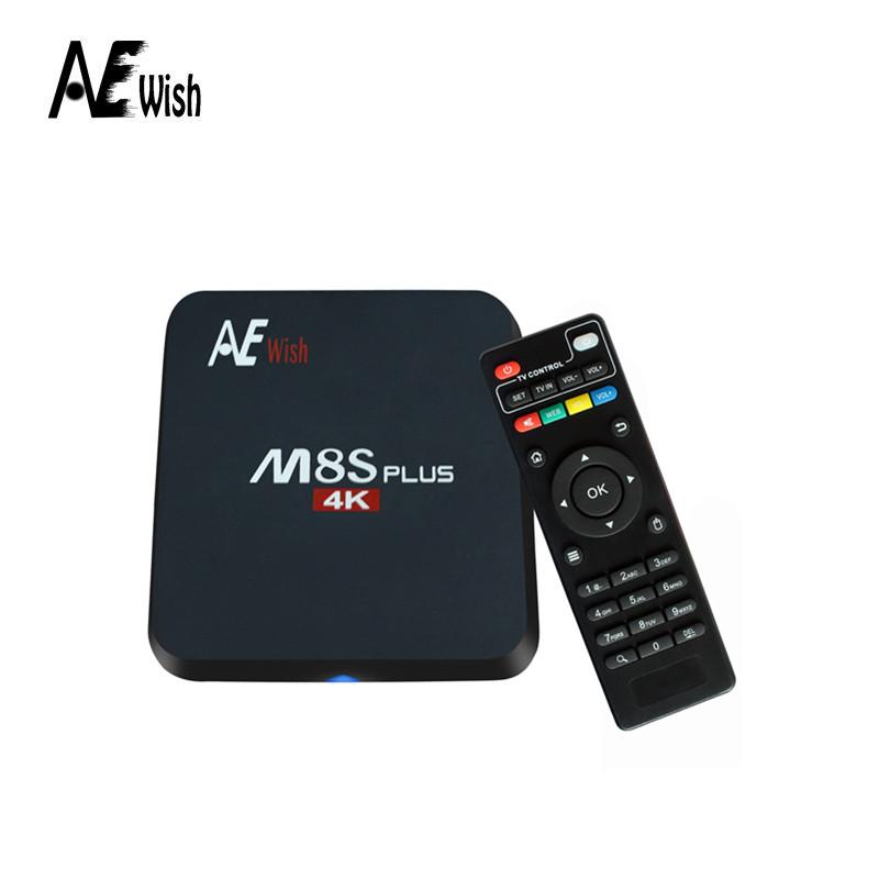 Anewish Newest Amlogic S905 Quad Core M8S Plus/M8S+ Android 5.1 TV Box Kodi 16.0 2.4G&5G Dual Wifi 2GB/16GB H.265 1000m Lan(China (Mainland))