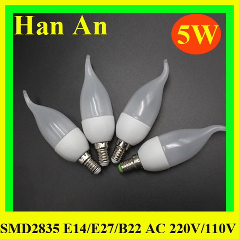 Гирлянды елочные светодиодные LED Лампа 5W Прожектор светодиодный уличный фонарь освещения лампада свечи освещает высокое качество Сид Кристмас