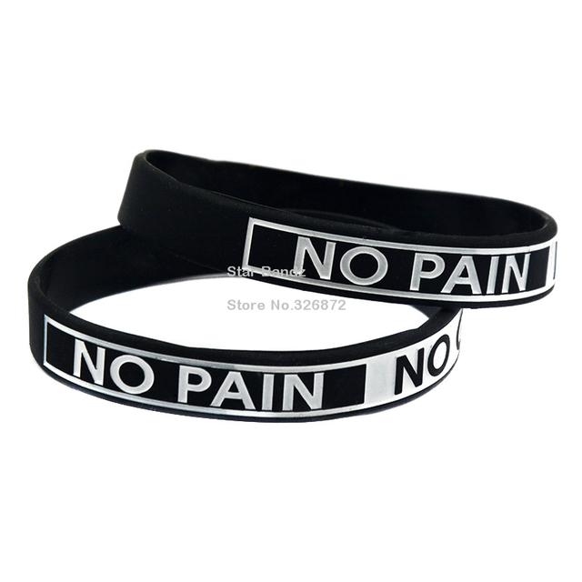 1 шт. нет боли нет усиления мотивация силиконовый браслет заполненная цвет взрослых ...