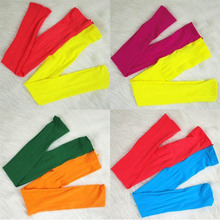 Trendy Candy Color Baby Girls Kids Two colors Seamless Pantyhose Tights Stockings Dropshipping