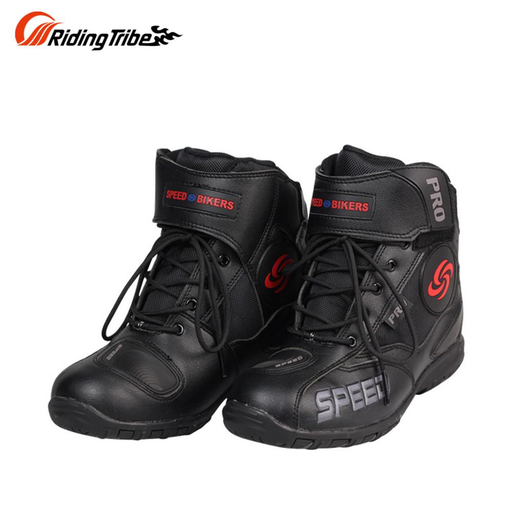Men Motorcycle Boots Motocross Racing Speed Motorbike shoes Moto Boot Motorcycles Boots Men dirt bike Cycling Sports Botas(China (Mainland))