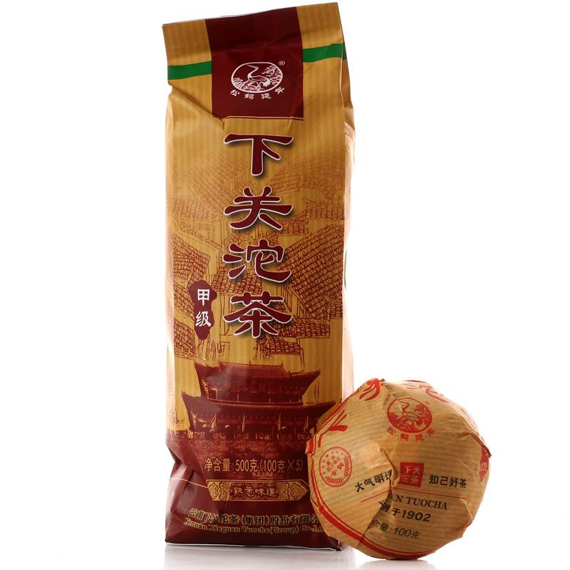 Гаджет  [GRANDNESS] PROMOTION 2015 100g X 5pcs Yunnan XiaGuan Tuocha Factory Premium pu erh tuocha Xiaguan Puer Tea RAW sheng puerh 500g None Еда