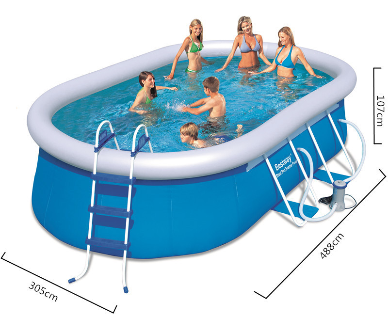 Swimming Pool Large Oval Heighten Thickened Inflatable Pool Children And Adult Pool